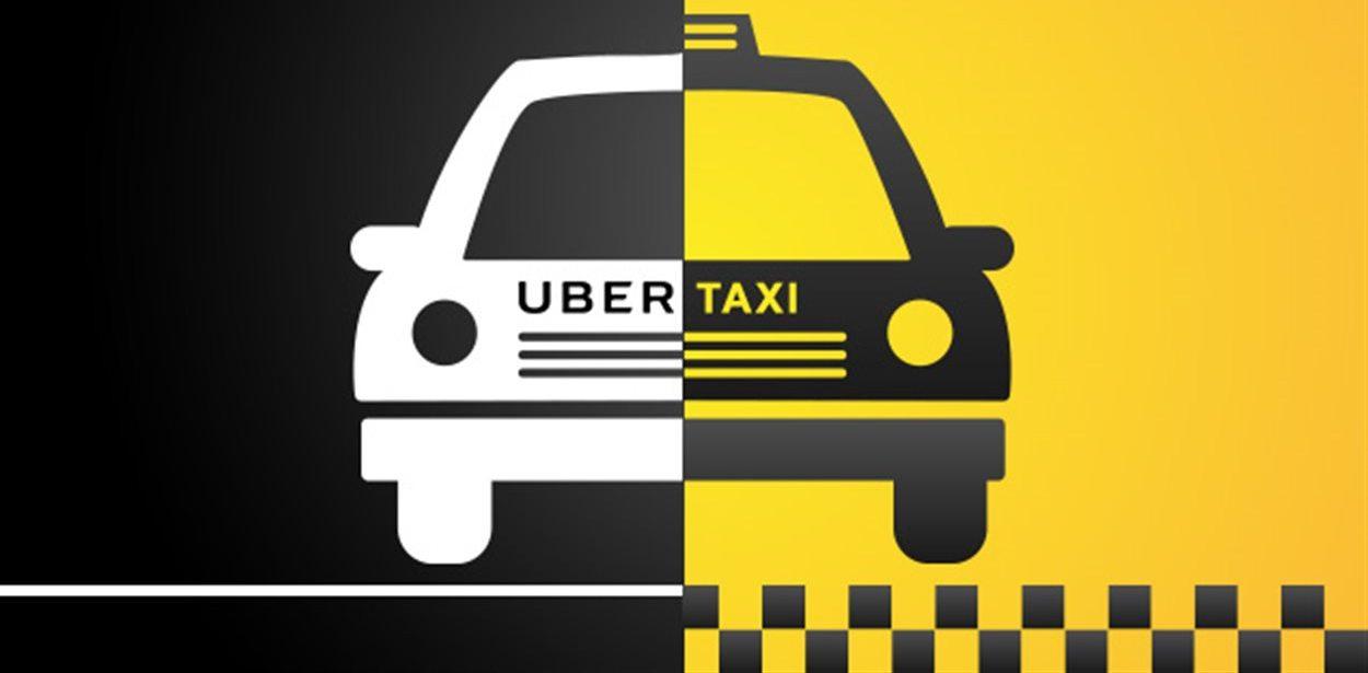 Taxi ou Uber - image