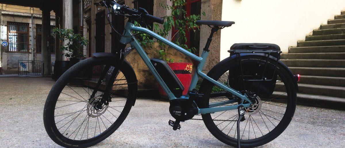 Vélo électrique- image