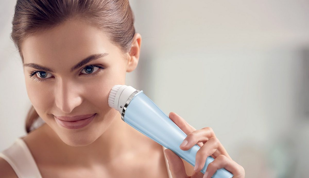 Brosse nettoyante visage - image